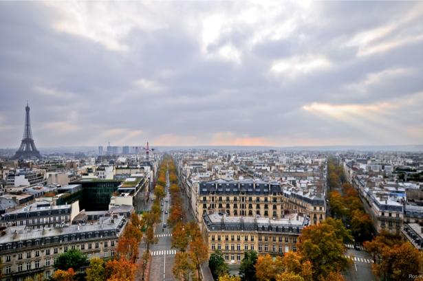 Фотообои  Париж Франция (city-0000679)