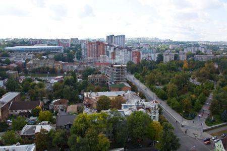 Фотообои город Днепропетровск Украина (city-0000951)