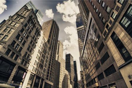 Старые небоскрёбы Америки фотообои (city-0001163)