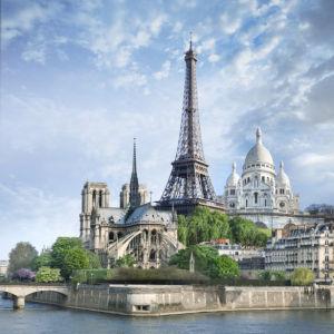 Фотообои достопримечательности Парижа (city-0001287)
