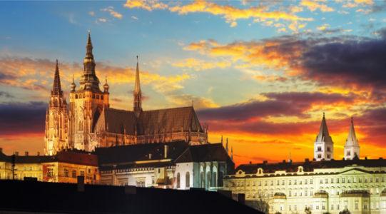 Фотообои Пражский Град замок (city-0001402)