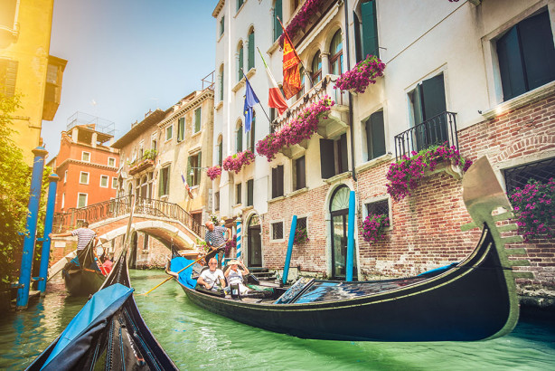 Фотообои Гондолы в Венеции (city-1454)