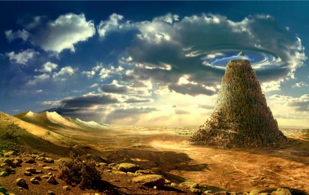Фотообои город вавилон (fantasy-0000066)