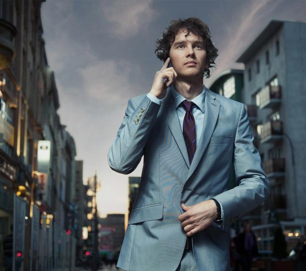 Фотообои мужчина в кастюме (glamour-0000053)