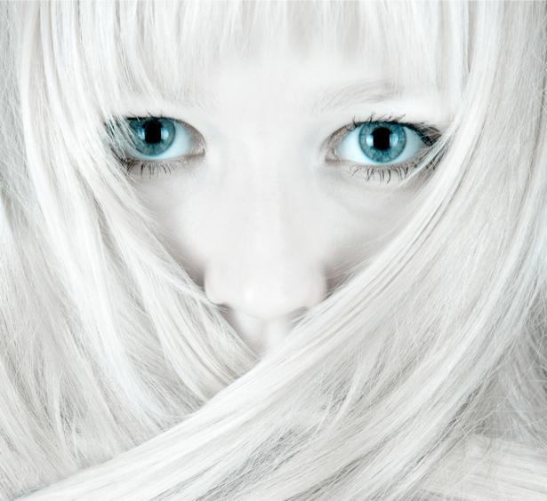 Фотообои прическа и глаза (glamour-0000139)
