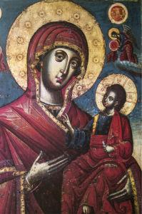 Икона Дева Мария и Иисус Христос (icon-00110)
