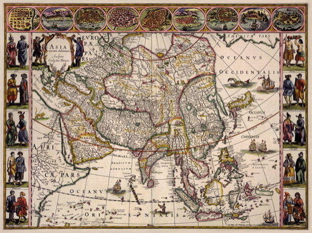 атлас, география, карты, старая карта (map-0000103)