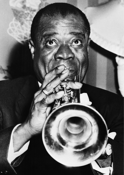 Фотообои Луи Армстронг и джаз (retro-vintage-0000234)