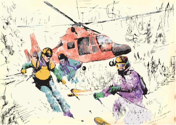 Фотообои зимние виды спорта (sport-0000159)