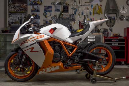 Фотообои спортивный мотоцикл KTM (transport-303)