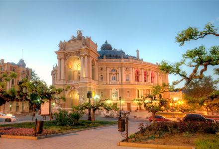 Фотообои Театр оперы и балета Одесса (ukr-21)