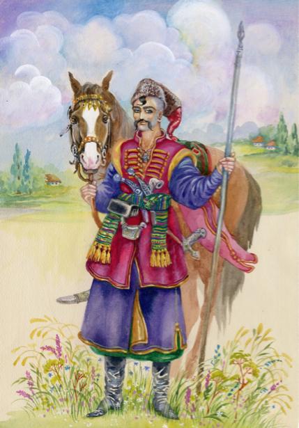 Украинский казак (ukraine-0220)