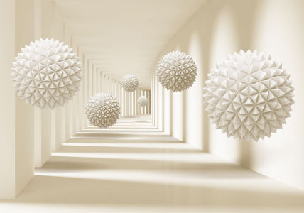 Фотообои Сферы в пространстве (3d19)