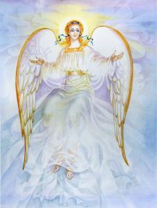 Фото обои Ангел на небесах (angel-00059)