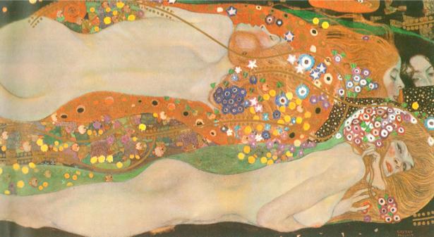 Климт Водяные змеи (art-0000032)