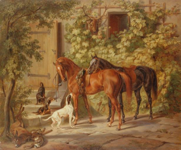 Альбрехт лошади (art-0000035)