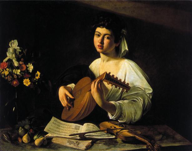 Микела́нджело да Карава́джо, «Лютнист» (art-0000089)