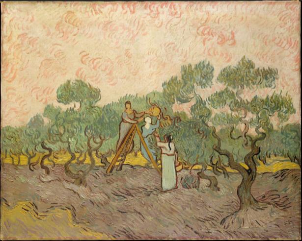 Ван Гог пейзаж (art-0000226)