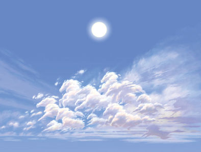 Фотообои Небо в лошадях (child-482)