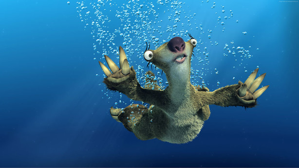 Фотообои Сид под водой (child-534)