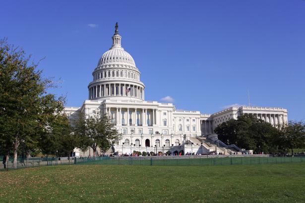 Фотообои купол Капитолия США (city-0000752)