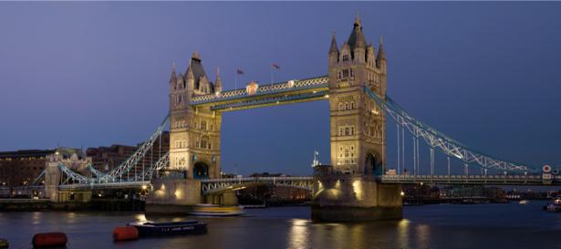 Фотообои тауэрский мост вечер (city-0001032)