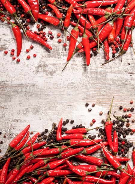 Фотообои на кухню горький перец (food-0000281)