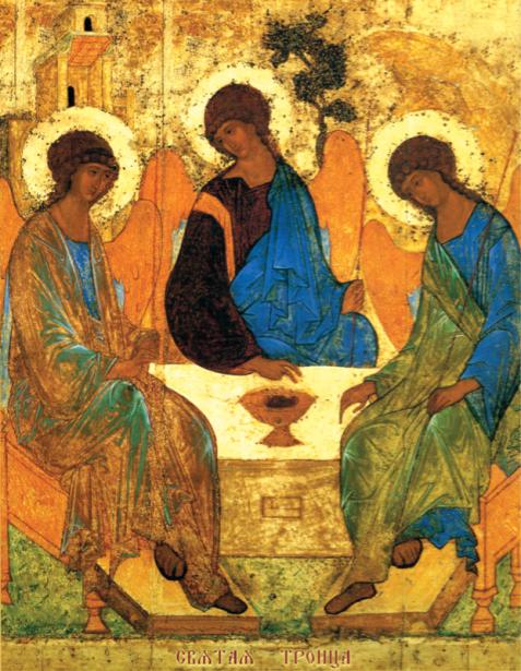Икона Пресвятая Троица (icon-00045)
