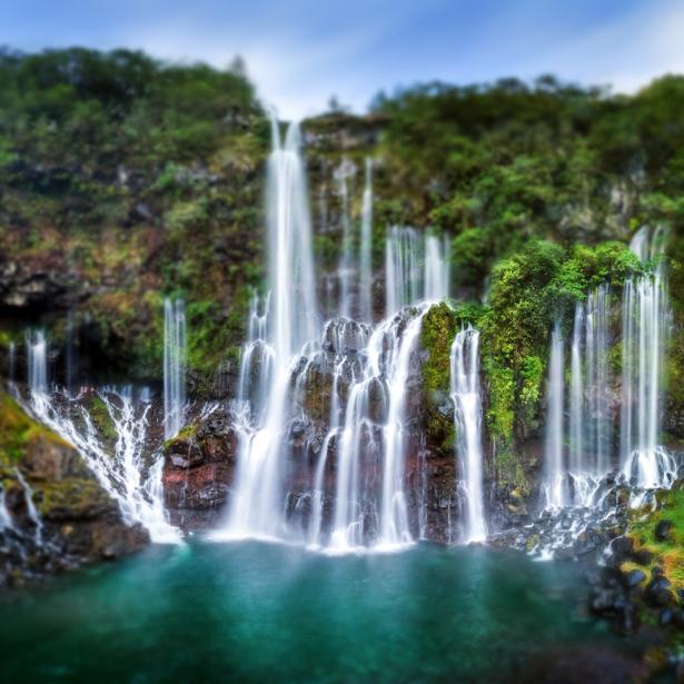 Фотообои струи водопада (nature-0000709)