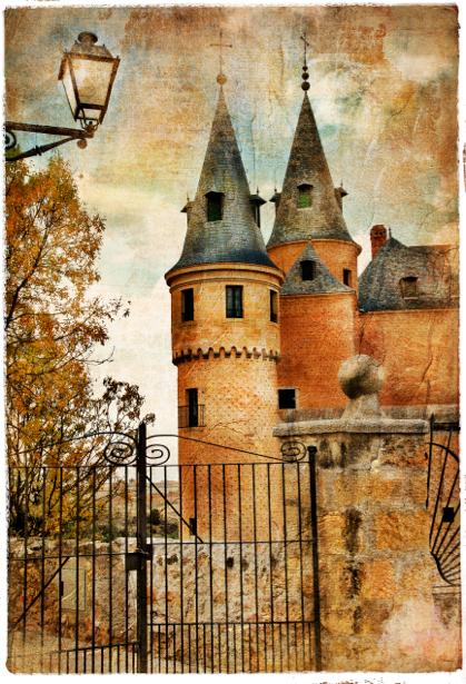 Фотообои замок фото винтаж (retro-vintage-0000135)