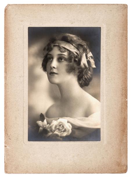 Фотообои Женский портрет (retro-vintage-0000383)
