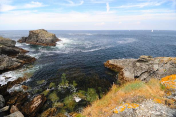 Фотообои вид на море с берега (sea-0000091)