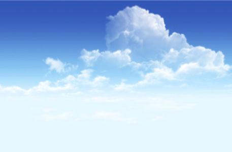 Фотообои светлые небо с облаками (sky-0000072)