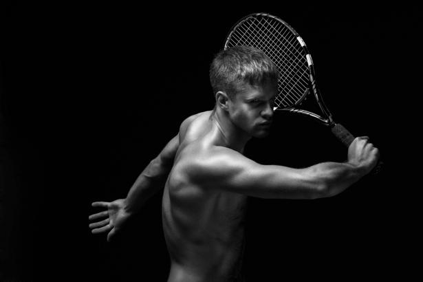 Фотообои большой теннисист модель (sport-0000015)