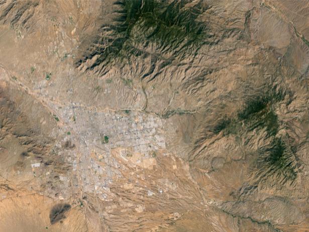 Фотообои для стен горы и пустыня (terra-00241)
