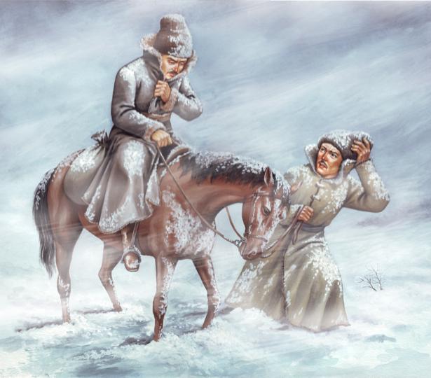 Иллюстрация к роману Андрея Чайковского Сагайдачный (ukraine-0125)