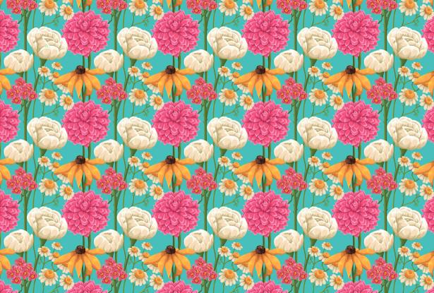 Скатерть Flowers (0154)