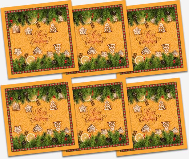 Салфетки Merry Christmas (205-napkins)