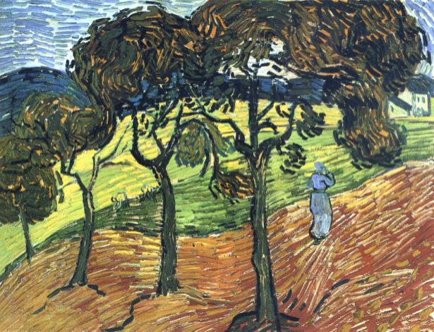 Ван Гог пейзаж (art-0000210)