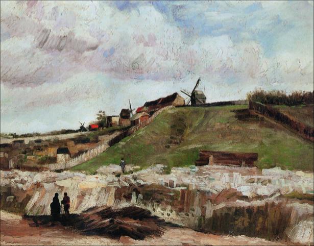 Ван Гог пейзаж (art-0000222)
