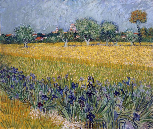 Ван Гог пейзаж (art-0000288)