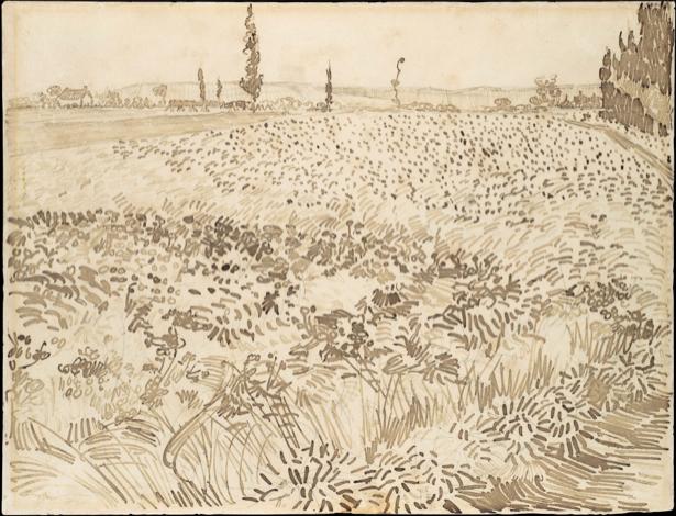 Ван Гог графика (art-0000299)