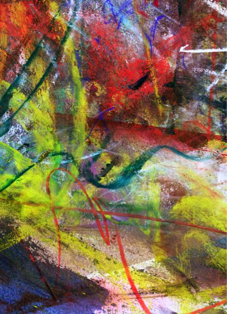 Фотообои краски и пастель абстракция (background-0000071)