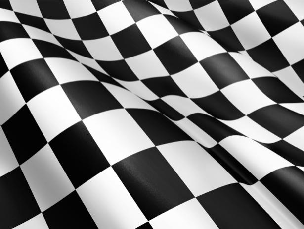 Фотообои гоночный флаг (background-0000192)