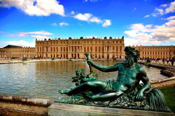 Фотообои Версаль, Париж, Франция (city-0000262)