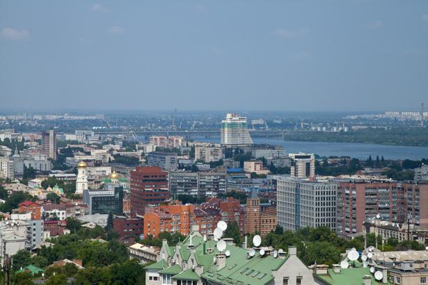Фотообои Днепропетровск вид на парус (city-0000907)