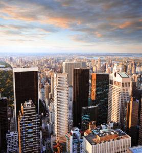 небоскрёбы нью-йорка фотообои (city-0001167)