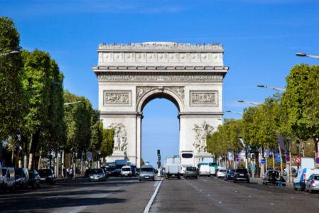 Триумфальная арка Париж Фотообои (city-0001313)