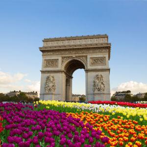 Фотообои Триумфальная арка, Париж (city-0001315)