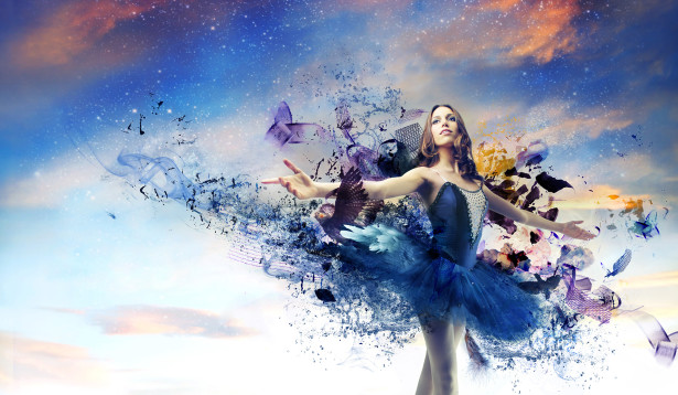 Фотообои искусство балета (dance-4)